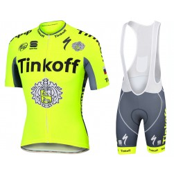 2016 Tinkoff Race Team Cycling Jersey And Bib Shorts Set