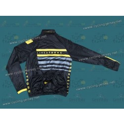 2013 LiveStrong Black Thermal Cycling Long Sleeve Jersey