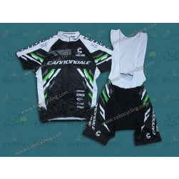 2014 Cannondale Black Cycling Jersey And Bib Shorts