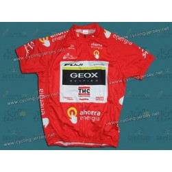2011 Geox Tour De Spain Red Cycling Jersey