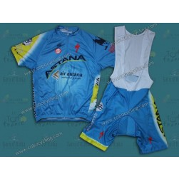 2014 Team Astana Cycling Jersey And Bib Shorts