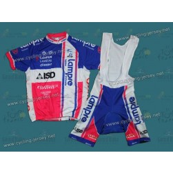2012 Lampre vertical Style Cycling Jersey And Bib Shorts