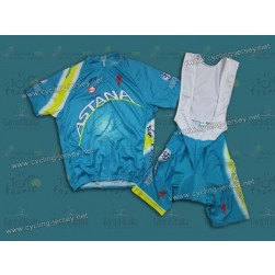 2013 Team Astana Cycling Jersey and Bib Shorts