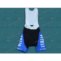 2014 Italy Skoda Cycling Bib Shorts