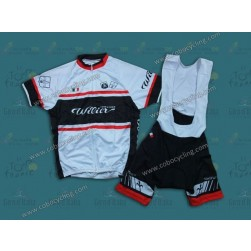 2013 Team Wilier White Cycling Jersey And Bib Shorts