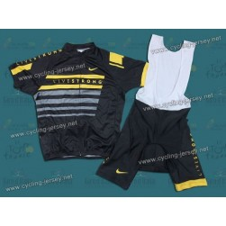 2013 LiveStrong Team Cycling Jersey and Bib Shorts