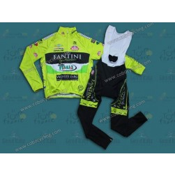 2013 Team Farnese Thermal Long Cycling Jersey And Bib Pants