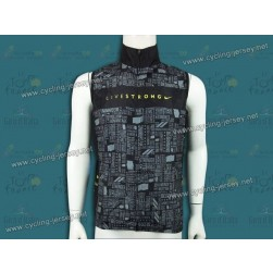2012 Livestrong Black Cycling Wind Vest