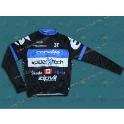 2013 Cervelo Spider Tech Cycling Long Sleeve Jersey