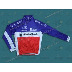 2013 Leopard Trek France Champion Thermal Cycling Long Sleeve Jersey
