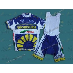 2013 Vacansoleil Team Cycling Jersey And Bib Shorts