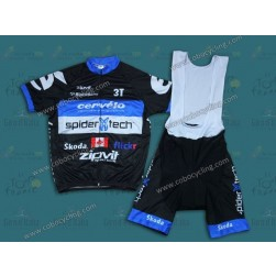 2013 Cervelo Spider Tech Cycling Jersey And Bib Shorts