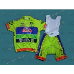 2014 Neri Sottoli- Yellow Fluo Cycling Jersey And Bib Shorts