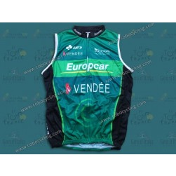 2013 Team Europcar Vendee Cycling Vest/Sleeveless Jersey