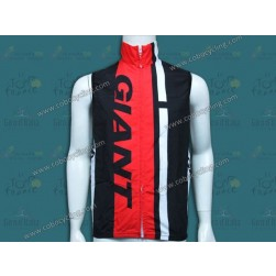 2014 Giant Black/Red Cycling Wind Vest