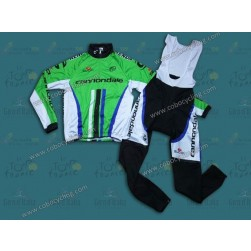 2014 Cannondale Factory Team Thermal Long Sleeve Cycling Jersey And Bib Pants