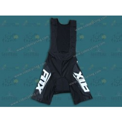 2014 Team Fox Blue Ice Cycling Bib Shorts