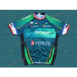 2014 Team Europcar Vendee France Champion Cycling Jersey