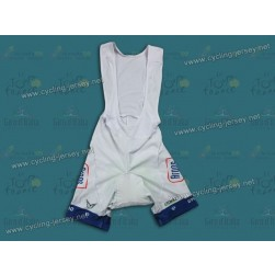 2013 Argos Shimano White Cycling Bib Shorts