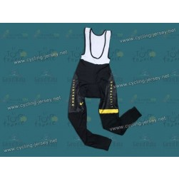 2013 LiveStrong Black Thermal Cycling Bib Pants