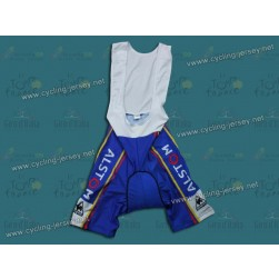 2012 Alstom BIC Blue Cycling Bib Shorts