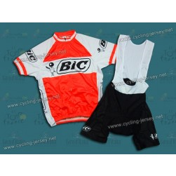 BIC Throwback Cycling Jersey and Bib Shorts