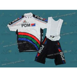 PDM Throwback Cycling Jersey and Bib Shorts