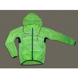 2013 Castelli Green Transparency Raincoat/Waterproof