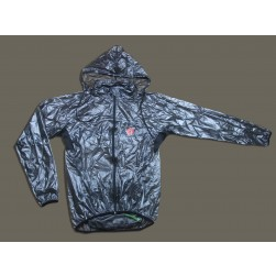 2013 Castelli Black Transparency Raincoat/Waterproof