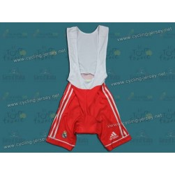 2011 TEAM REAL MADRID RED Cycling Bib Shorts