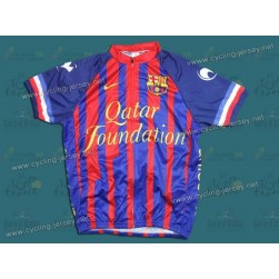 2011 Futbol Club Barcelona Blue Cycling Jersey