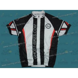 2011 GHOST Black and White Cycling Jersey