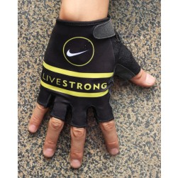 2013 Livestrong Black And White Cycling Glove