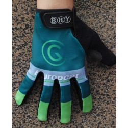 2014 Team Europcar Thermal long Cycling Gloves